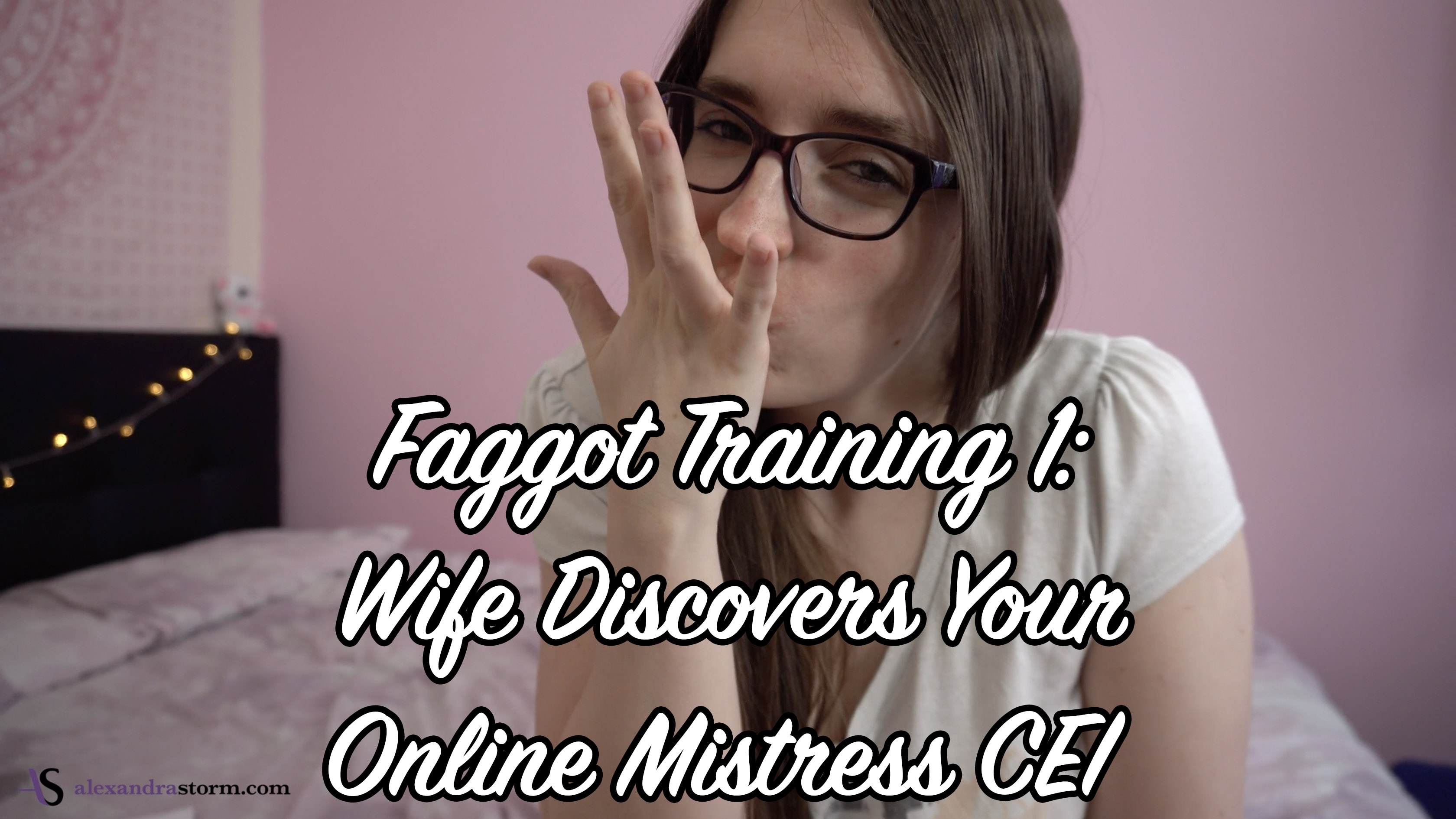 Faggot Training: Wife Finds Your Online Mistress CEI